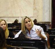Natalia Villa brindó un encendido discurso.