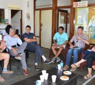 Los representantes sectoriales y el municipio se reunieron antes de la temporada 2020.