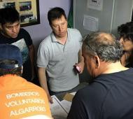 El municipio de Villarino publicó un parte con el estado de situación.