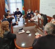 Villarino espera la respuestas del gobierno bonaerense