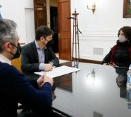 Provincia adhrió al Plan Nacional de Suelo Urbano y al Plan Federal Argentina Construye Solidaria