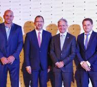 Martiniano Molina participó de la cena de Cippec junto a principales referentes políticos y empresariales