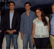 Urtubey recibió a los diputados en su residencia de Salta.