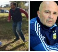 Reynoso jugó al fútbol en la Escuela Rural N|15.