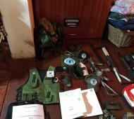 """Desbaratan un """"ejército paramilitar"""" y hay nueve detenidos"""