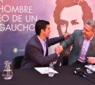 Juan Manuel Urtubey mantuvo una reunión con Manuel Arcioni.