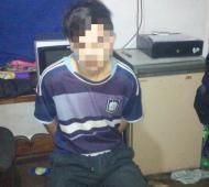 """""""Coquito"""" permanecía oculto en una vivienda de Moreno."""