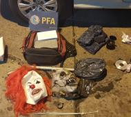 """Operación """"Halloween"""": Detienen a seis narcos y secuestran dos kilos de cocaína y dosis de marihuana"""
