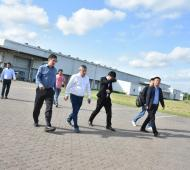 Britos se reunió con empresarios chinos. Foto: LaNoticia1.com