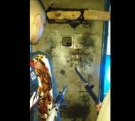 La imagen que los presos enviaron a LaNoticia1.