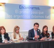Urtubey encabezó un conversatorio con mujeres representantes de diversos ámbitos. Foto: Prensa