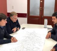 General Rodríguez: Kubar anunció el inicio de la obra de reparación y construcción de dársenas de la Ruta Provincial 7