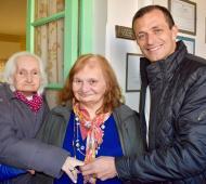 En Tandil visitó el Hogar de ancianos San José