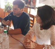 Kicillof en San Pedro Foto: La Noticia 1