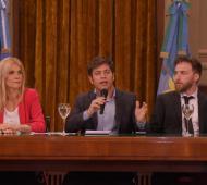 """Ley impositiva 2020: Federico Otermín defendió el proyecto y manifestó el deseo de """"una Provincia unida y solidaria"""""""