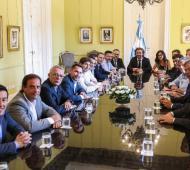 Precios Cuidados 2020: Intendentes bonaerenses estuvieron en la Rosada para coordinar la fiscalización