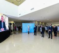 El Presidente participó de la apertura de los hospitales Favaloro en La Matanza y el modular Covid-19 en Mar del Plata