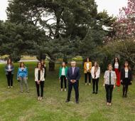 El presidente se reunió con empresarias en Olivos quienes destacaron la resolución.