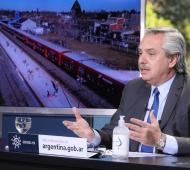 Alberto Fernández anunció obras de infraestructura ferroviaria para San Fernando, Escobar y Malvinas Argentinas