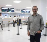 """Diego Valenzuela: """"El aeropuerto de El Palomar nos conecta y da trabajo; tiene que seguir"""""""