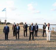 La Provincia de Buenos Aires participa y Kicillof firmó el convenio en Santa Fe