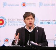 Kicillof anunció plan de reactivación pospandemia