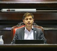 Kicillof abrió las sesiones ordinarias en la Legislatura en un discurso de dos horas
