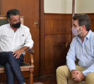 """Ritondo en Lobos: El diputado cuestionó que """"faltan vacunas y un plan de vacunación transparente"""""""