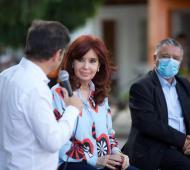 """Cristina en Las Flores: Sobre la renegociación de la deuda dijo que """"los plazos y las condiciones son inaceptables"""""""