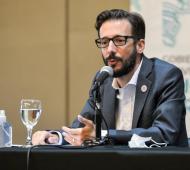 Agustín Simone - Ministro de Infraestructura y Servicios Públicos de Buenos Aires