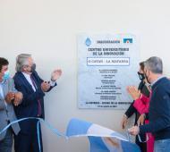 El Presidente puso en marcha Centro Universitario de La Matanza
