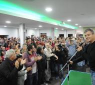 """""""Estamos unidos para que el 10 de diciembre vuelva la felicidad al pueblo argentino"""", dijo Juan Zabaleta"""