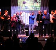 Hurlingham: Zabaleta recibió a los campeones del '86, que brindaron una charla abierta