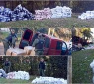 Malvinas Argentinas: Secuestran trescientos pares de zapatillas de contrabando