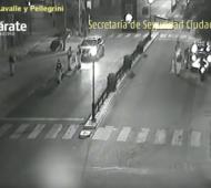 Zárate: Atropellaron a prefectos en un operativo de control