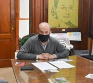 El intendente Pablo Zurro.